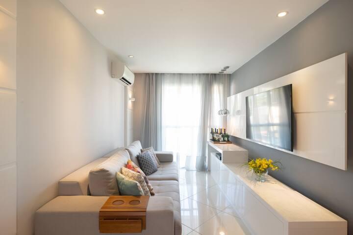 Apartamento aconchegante e confortável RJ