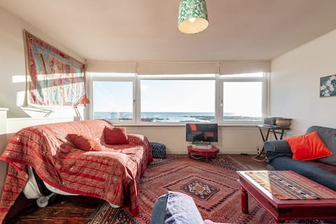 Beach cottage, Carnoustie
