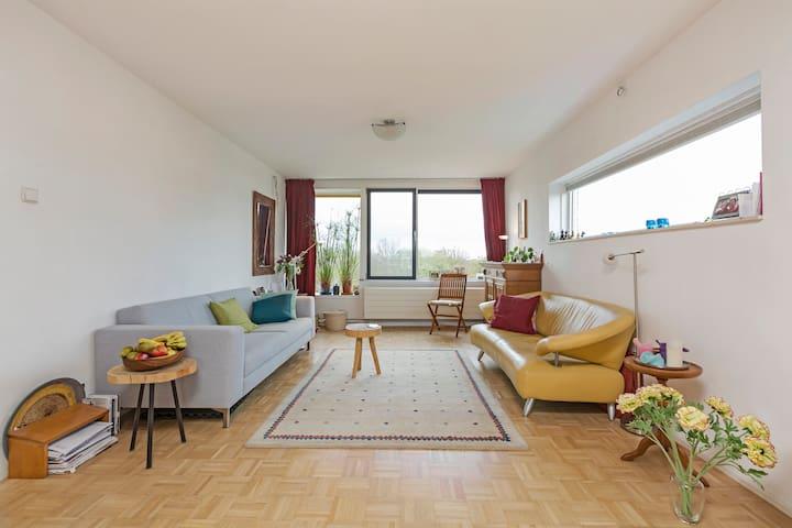 Appartement vlakbij het centrum: mooi uitzicht