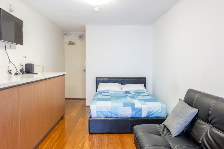 Private Comfort Sydney city pad