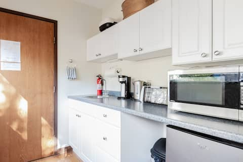 Large Private Room with Kitchenette & Private Bath