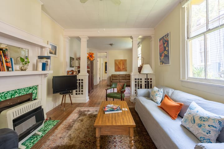 Cozy apartment in beautiful Algiers Point