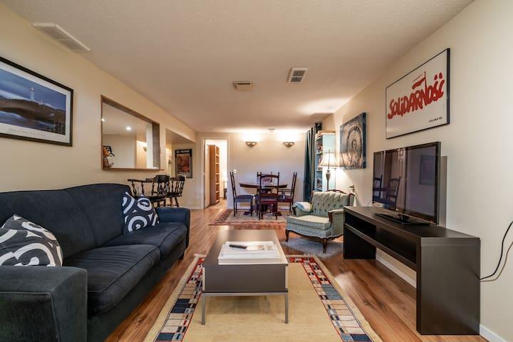 Cute, Cozy, Comfy Basement Suite