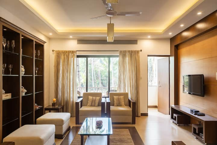 ParkWalfredoGoa. Beachside 2BedroomLuxuryApartment