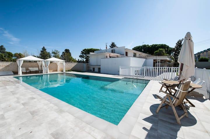 Casa completa, amplia, ideal relax