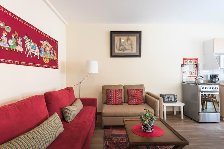 Lovely, bright and quiet apartment in La Condesa