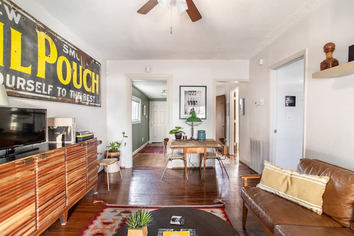 Funky Private Home in Wedgewood Houston/Downtown