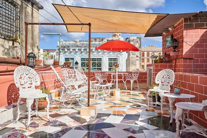 ★ Obispo Street ★ Casa Victoria + Terrace/WIFI