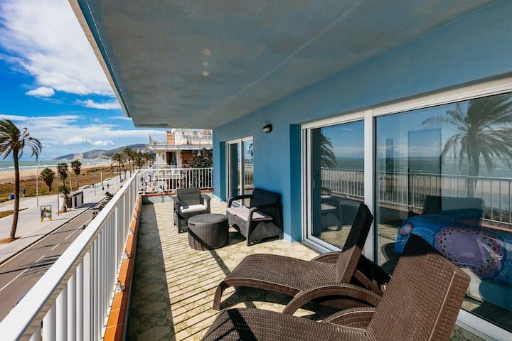 Castelldefels Beach-Casa Azul