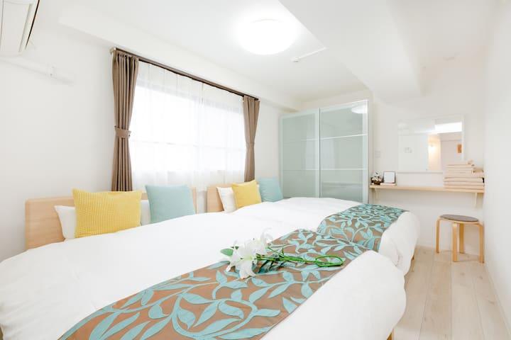 #3 spacious 46㎡ apartment central Kyoto