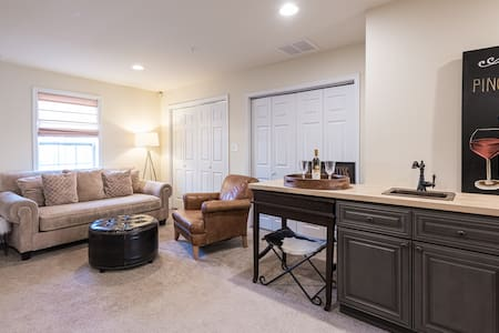 Spacious 1 Bd Suite Offers Proximity and Privacy