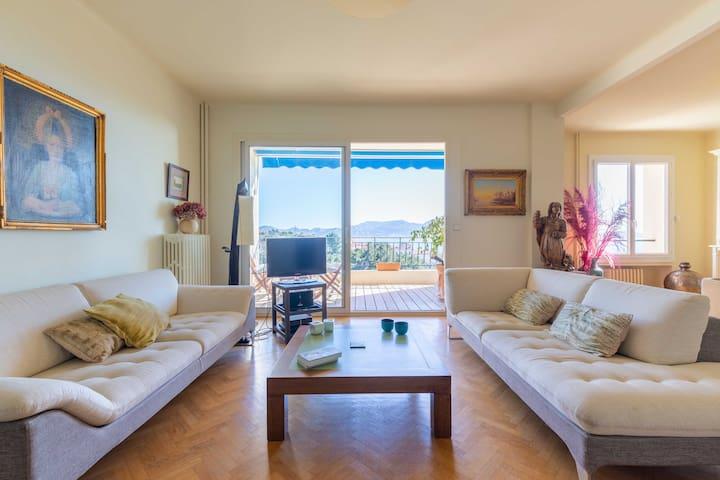 Appartement avec vue imprenable sur toute la baie