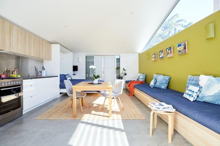 Architecturally designed luxury studio