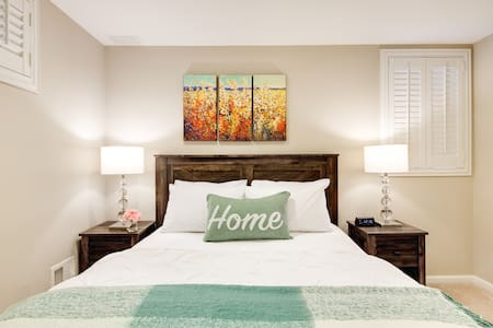Visit DC! Comfy and Cozy Garden Apartment