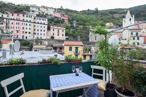Cozy house with terrace, Wifi, Cinque Terre