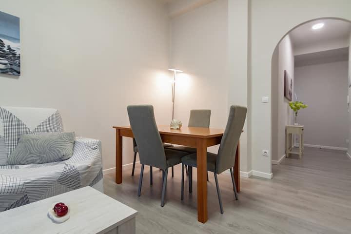 Apartamento  junto a la playa en El Sardinero