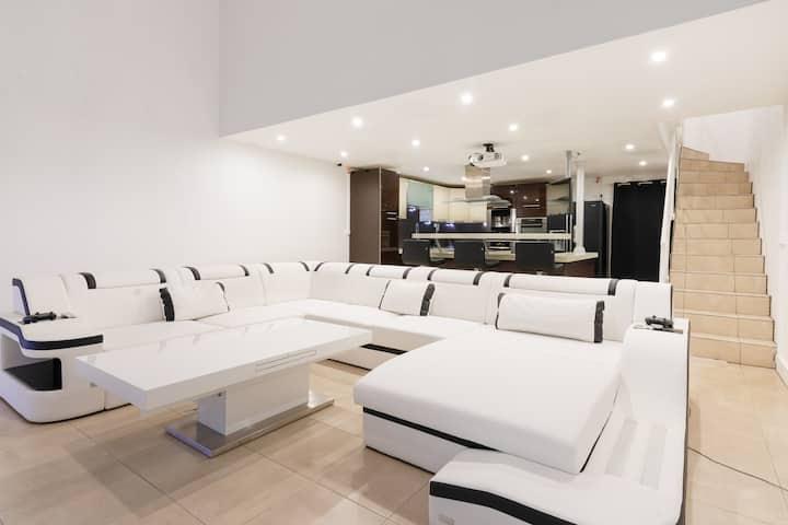 Duplex luxieux et contemporain 90 m²