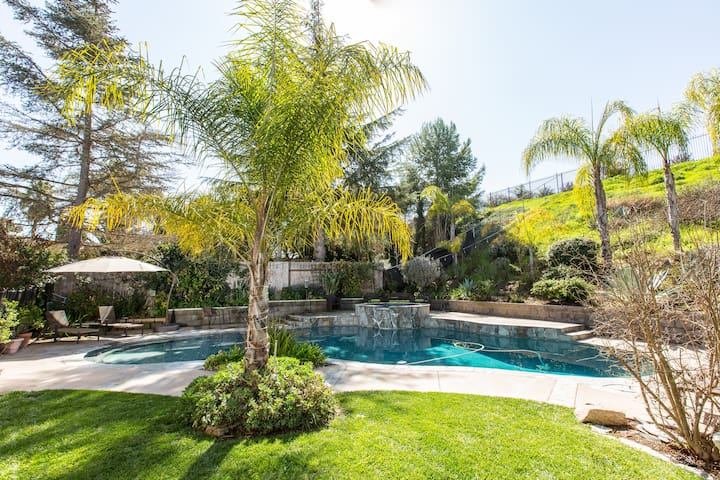 Private one bedroom suite with patio, pool & spa.