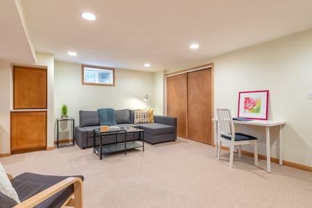 The Nest - Bright, modern daylight basement suite!