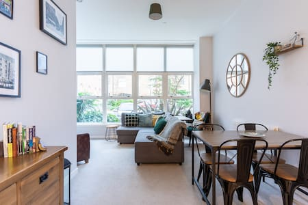 Modern and Homely Apartment - Glasgow City Centre