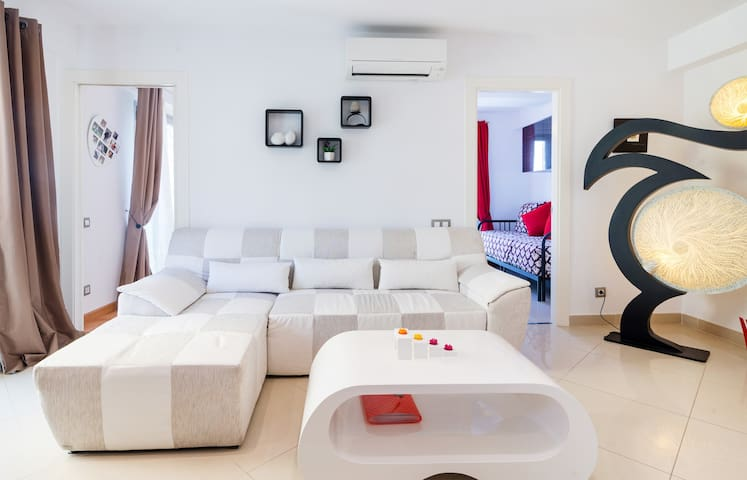 Appart 58m² Quiet, Ideal for family, 200m Beach