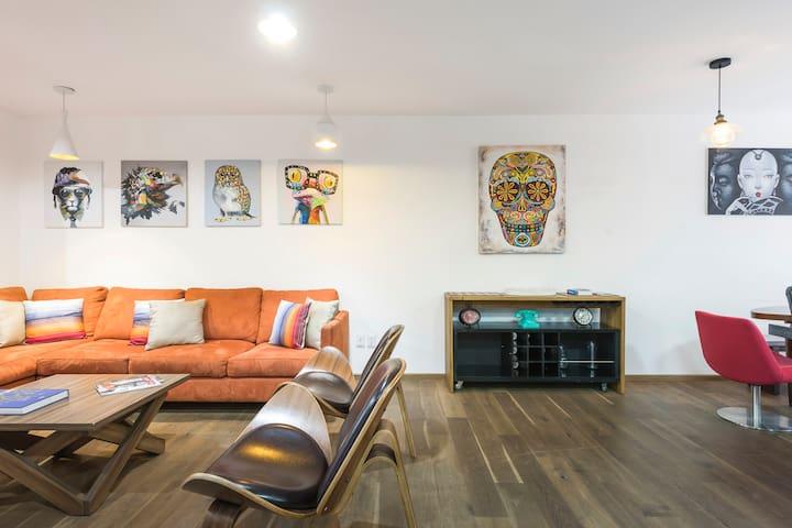REFORMA - New 2 bedroom @ Rio Atoyac 57