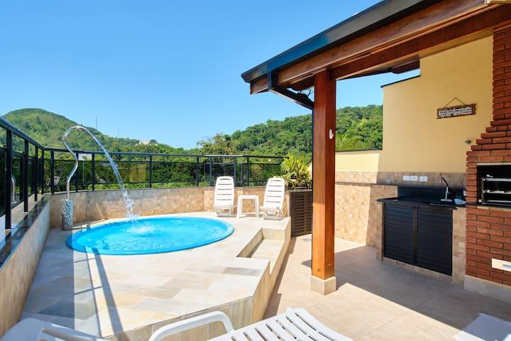 Penthouse duplex in Praia das Toninhas- Ubatuba SP