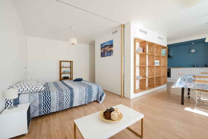 La Canebière Appartement idéalement situé-Au calme