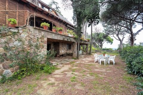 Apartamento privado en Casa Suiza entorno natural