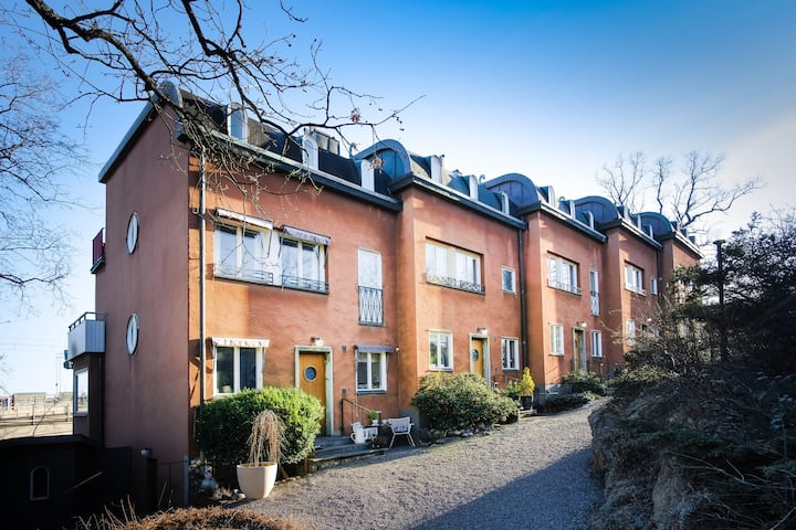 Central townhouse in Stockholm. In exklusive area