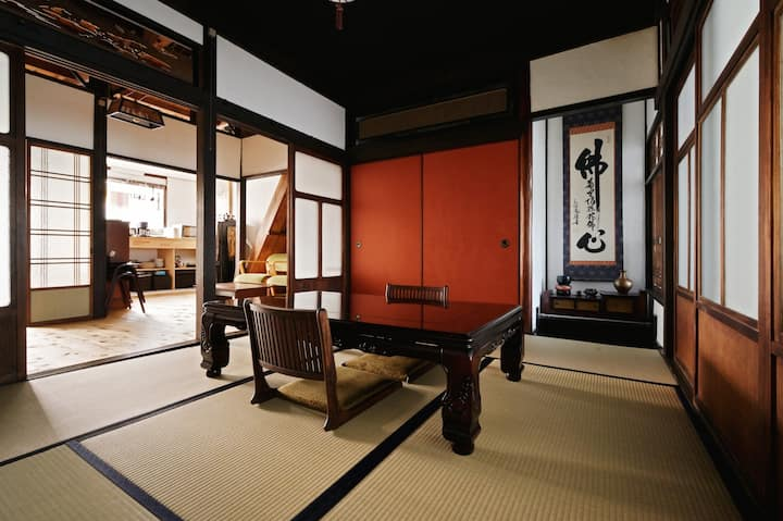 ☆Traditional Japanese House☆ 74m2☆Osaka Namba KIX☆