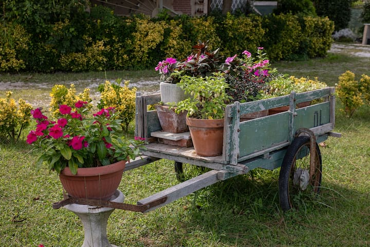 La Maison Marinara (big and stunning garden)