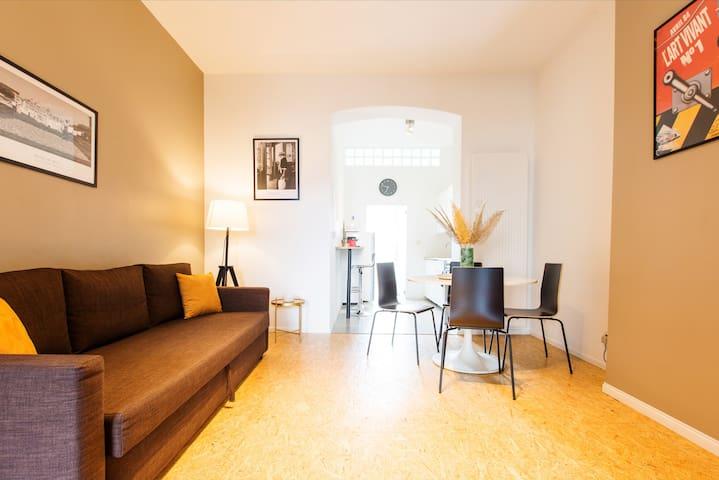 Splendide appartement lumineux à Bruxelles