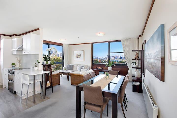 Wollstonecraft Apartment with Sydney Harbour Views