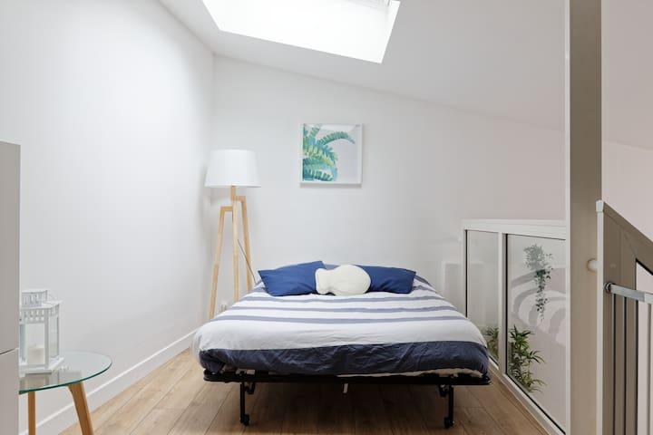 canapé BZ transformé en lit