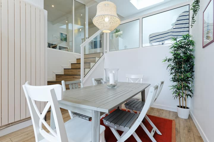Maison familiale 80m2 avec cour ensoleillée