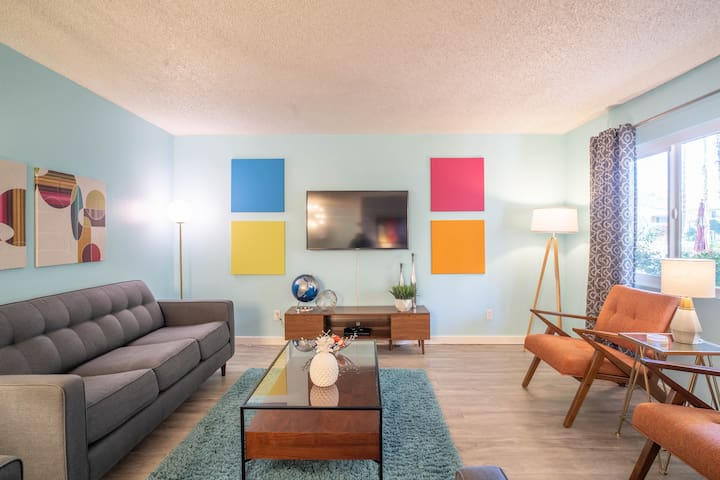 Palm Springs Getaway with All the Comforts of Home