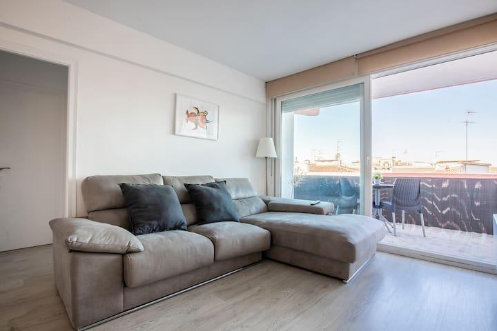 Apartamento Calafell  playa lateral mar