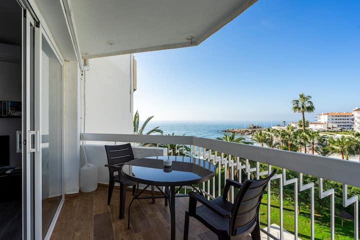 Apartamento con espectaculares vistas al mar