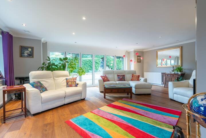 Modern Home in Scenic, Historic Alfriston