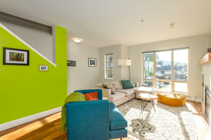 Garden Townhome in Downtown Squamish