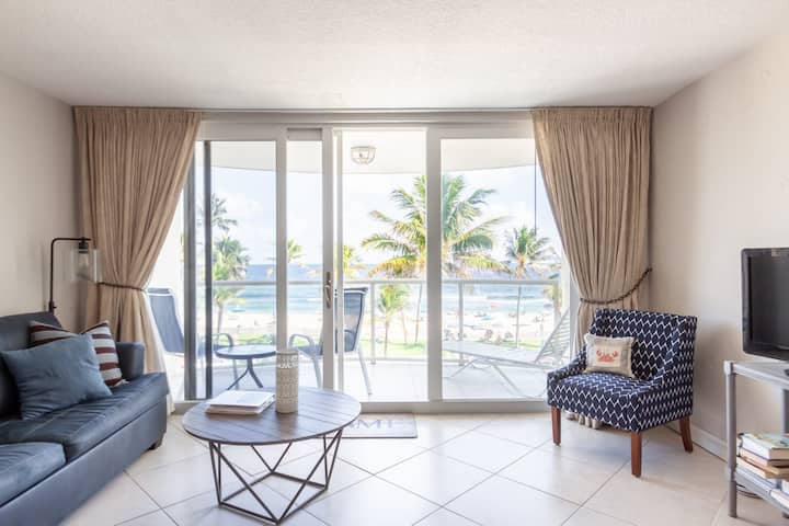 Ocean Front Dream Condo with Pool and View!