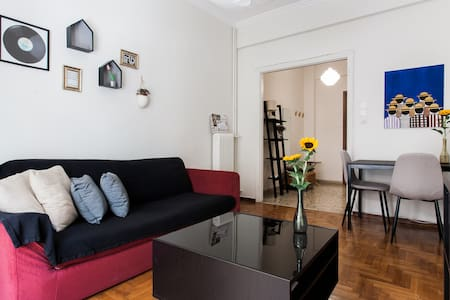 A lovely apartment in the heart of Athens
