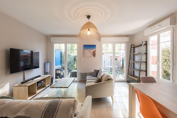 Appartement duplex 75 m2 classé meublé  ***