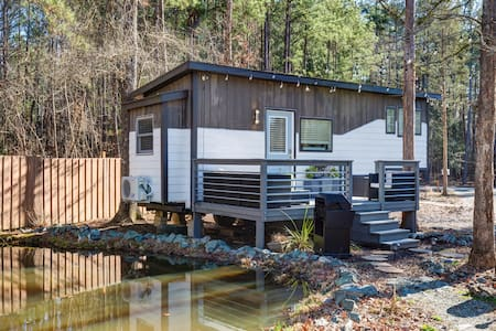Chic Modern Tiny House at Wildwoods Community Farm