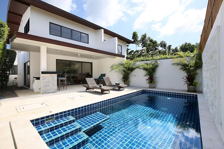 Villa F 3BR Samui Sanctuary near Big Buddha temple