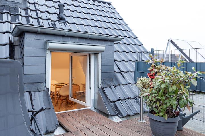 Gemütliche Dachgeschosswohnung mit Parkplatz