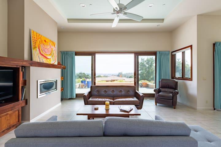 Solar-Powered Serene Home in Arroyo Grande