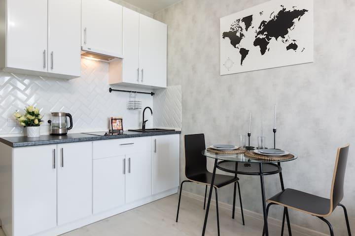 Уютная квартира рядом с метро Новокосино