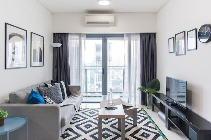 Modern Suite Near Twin Tower KLCC & Subways